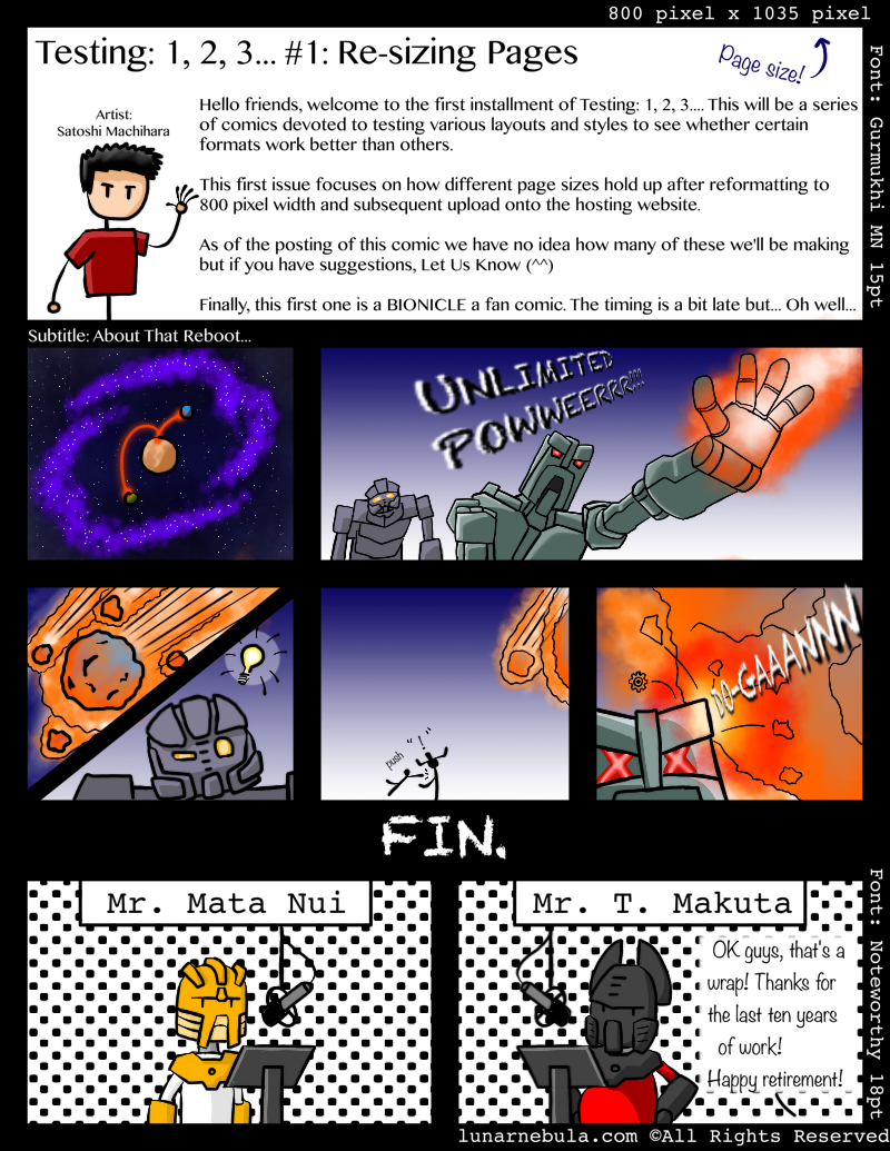 Page 1: The end… Maybe